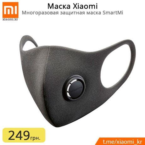 Многоразовая Защитная Маска Распиратор Xiaomi (Детская S), M, L