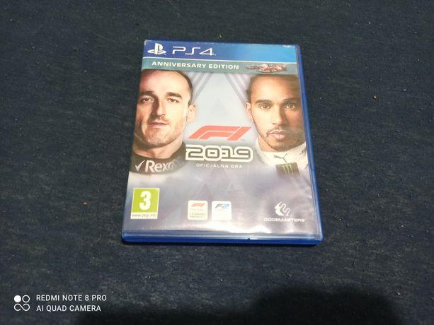 Gra F1 2019 PL na PS4