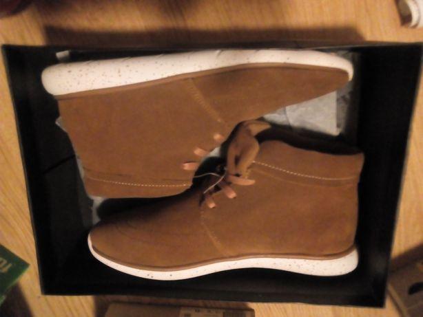 Nowe Buty męskie skórzane 42 i 43 Brooklyn's wkladka 28 i 28,7