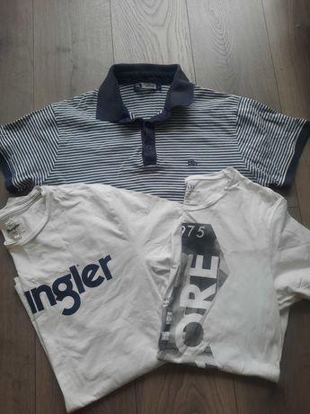 4 x T-shirt koszulka Wrangler Jack&Jones Taylor L
