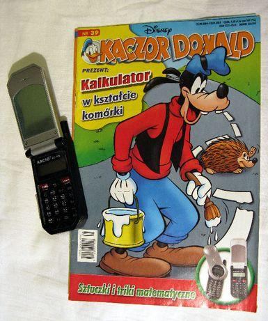 komiksy Kaczor Donald nr.25,33,39 z 2004r. z dodatkami