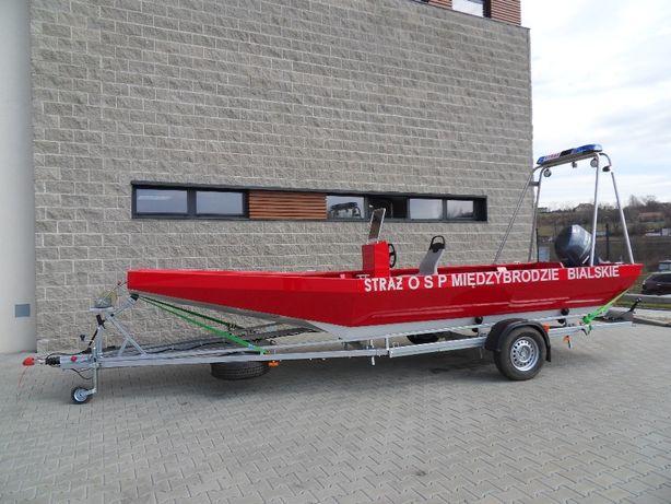 Łódź aluminiowa ALUCORIA LPA2X5 wędkarska, motorowa, ratownicza OKAZJA