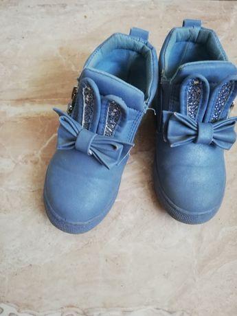 Botki wiosenne buty buciki wiosna dla dziewczynki r. 26