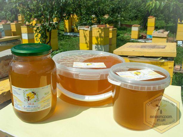 Зрелый акациевый мед / мед из белой акации 2021г (цена за 1 л)