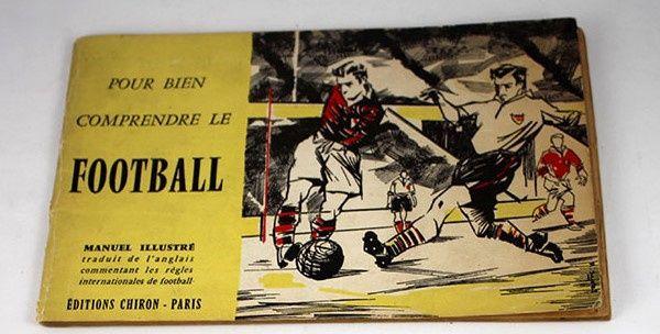 Manual de futebol em língua francesa - 1957