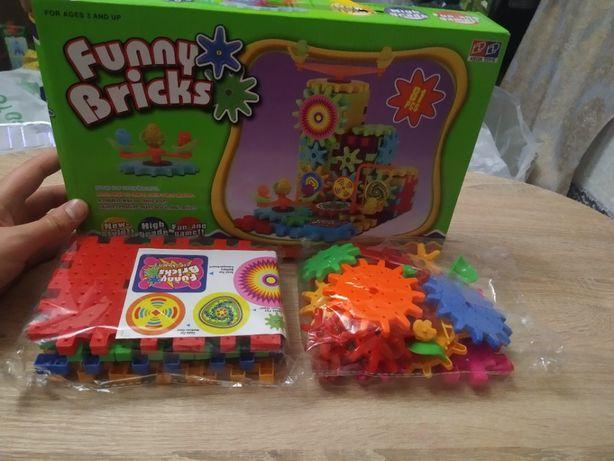 Конструктор Funny Bricks на 81 деталь