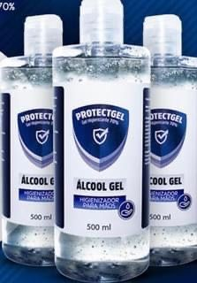 Revendedor alcool gel