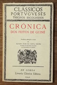 crónica dos feitos de guiné, álvaro júlio da costa pimpão, 1942
