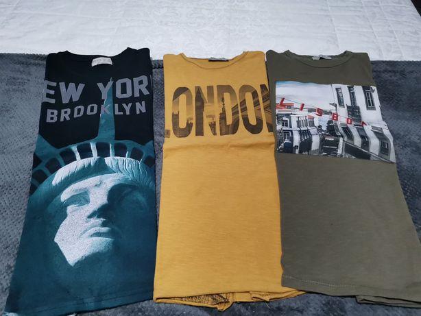 T-shirt manga comprida 9-10 anos