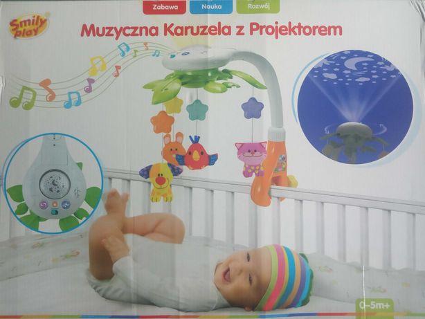 Muzyczna Karuzela z projektorem