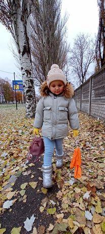 Зимняя детская куртка унисекс Zara