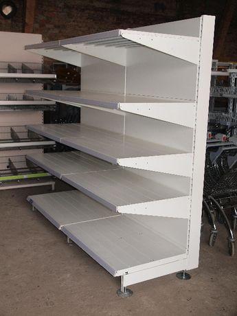 REGAŁ Regały półkowe metalowe magazynowe garażowe półki 65cm gł.
