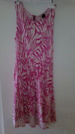 letnia sukienka w zebry 10zł