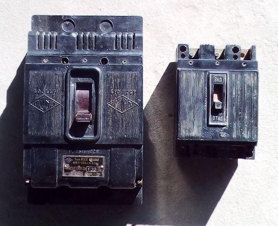 Расцепители автоматические выключатели напряжения тип А312 и А 3163
