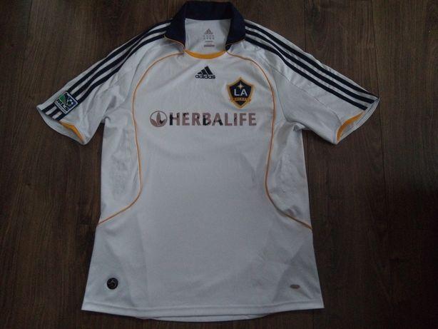 LA Galaxy Herbalife Adidas koszulka męska MLS Beckham Ibra Gerrard 08