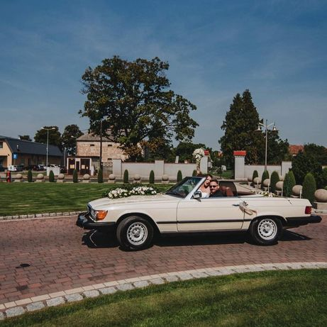 Mercedes 450 SL - Samochód do Ślubu, event, cabrio - prowadzisz sam