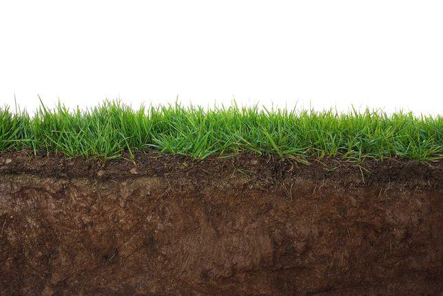 Ziemia siana idealna pod trawnik, otoczaki, transport