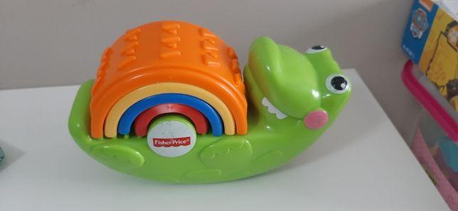 Zabawka edukacyjna krokodyl Fisher Price