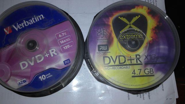 Nowe Płyty DVD+R Tanio 20 szt