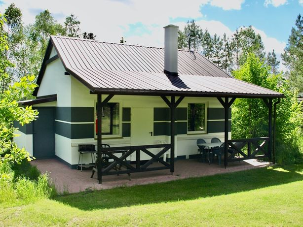 Kaszuby Komfortowy Nowy Domek na wsi z dużym tarasem