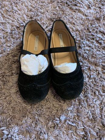 Туфли замшевые HM