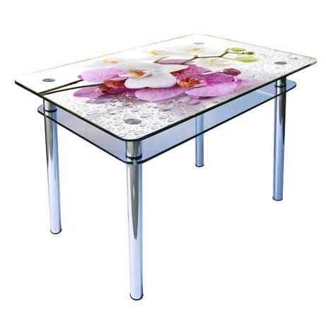Стеклянные кухонные столы, журнальные столики от производителя!