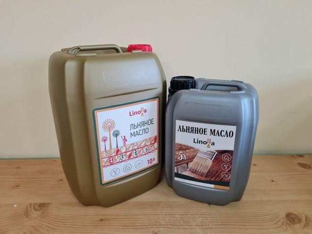Масло льняное от 65гр/л, от производителя для защиты дерева и пищевое