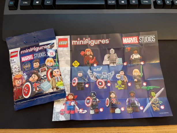 71031 Minifiguras LEGO®: Marvel Studios