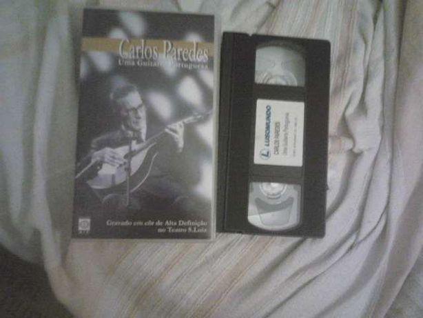 Carlos Paredes-Uma Guitarra Portuguesa-VHS/IL DIVO-Live At Greek Theat