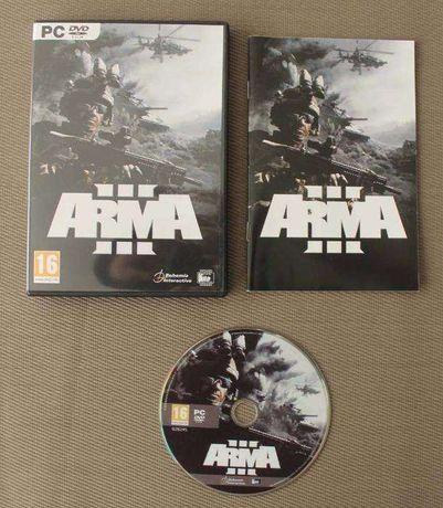Jogos PC DVD Arma III