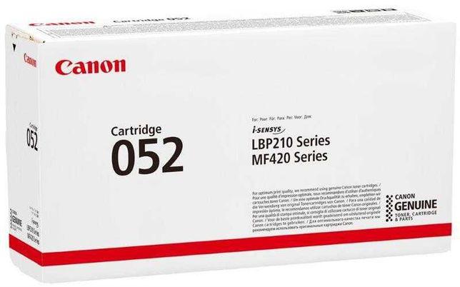 Обмен картриджа Canon 052
