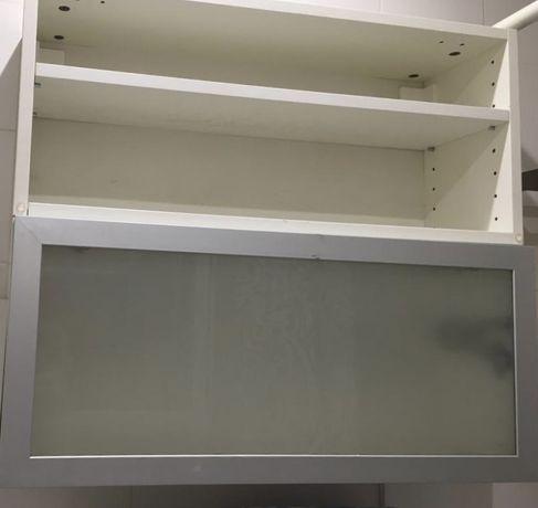 Armario parede branco Ikea