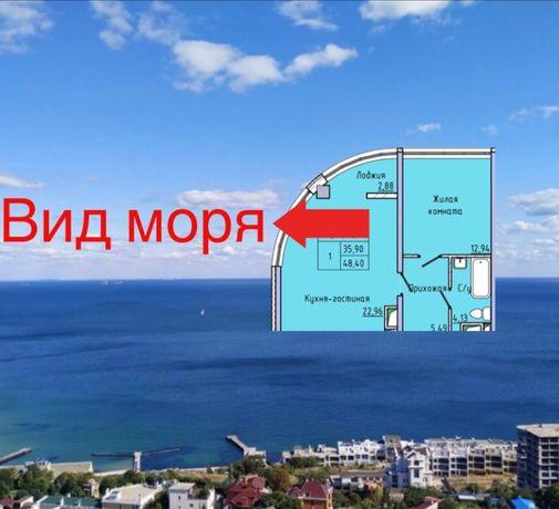 Дом сдан! Море! Продам 48 м2 квартиру! Жемчужина 44,45,27