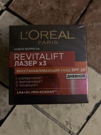 Дневной крем L'Oreal Paris Revitalift Laser Х3