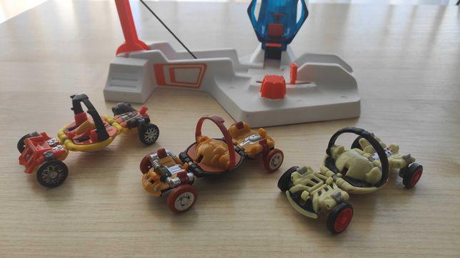 Hot wheels катапульта и машинки к ней