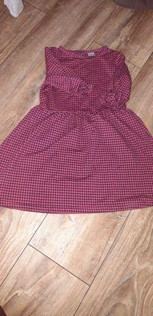 Sukienka cieplutka rozmiar 110