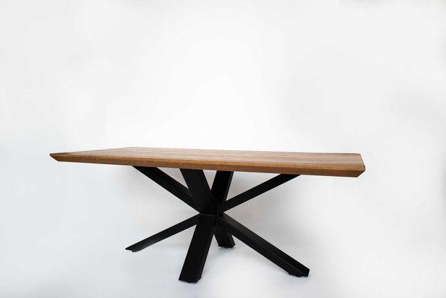 Stół dębowy nowy LOFT - WROCŁAW / OKOLICY