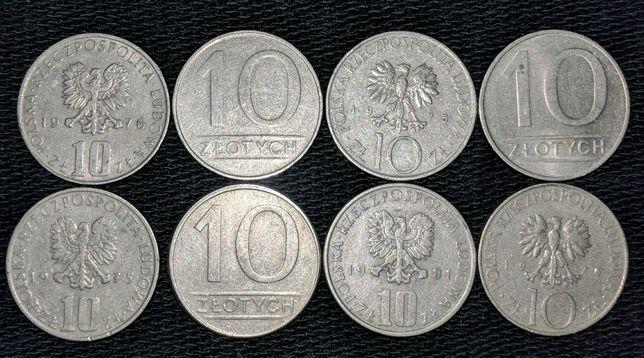 10 злотых 1975-1990