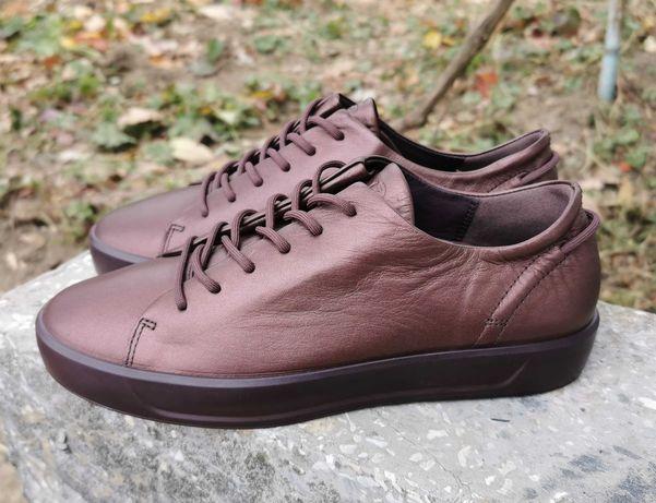 Кожаные кроссовки кеды ECCO SOFT 8 Оригинал 38 р.