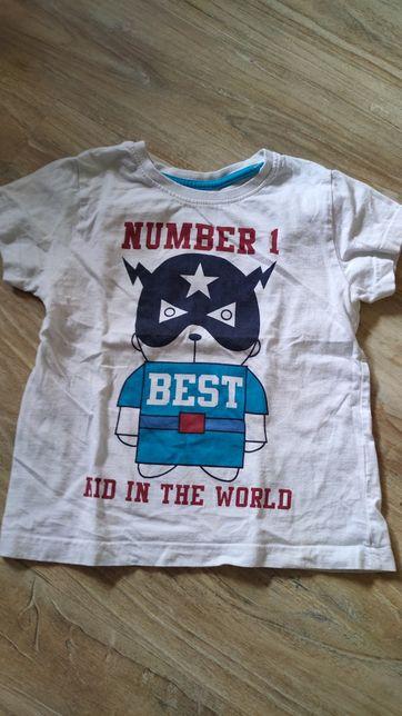T-shirt chłopięcy 104
