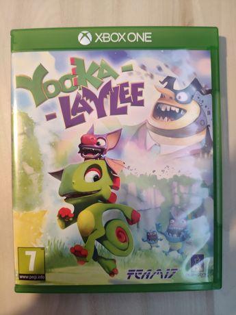 Yooka Laylee płyta Xbox one x fat s Xbox series x
