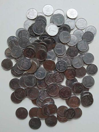 Монеты 1-2 копейки 2000-2010 год