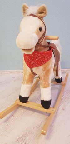 Качалка Baby Tilly Лошадь BT001B музыкальная