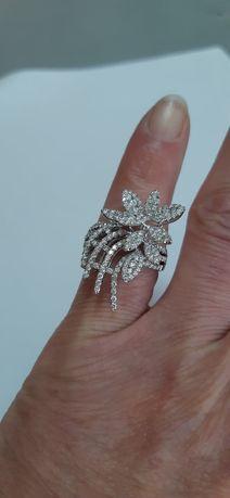 Diamantowy persćeń Exc/ Exc