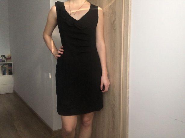 Mała czarna sukienka Vero moda jeana