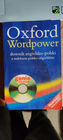 Oxford wordpower Słownik angielski polski. Bez plyty cd