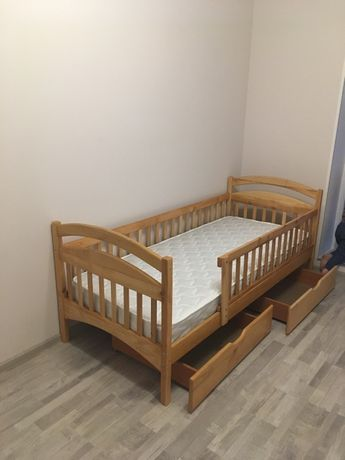 Детская кровать,из Ольхи, Подростковая кровать, купить кровать, мебель