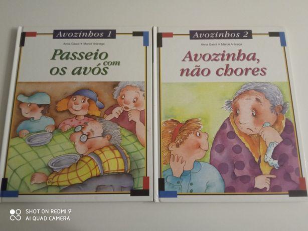 2 livros coleção avozinhos