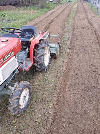 Usługi ogrodnicze glebogryzarka trawniki koszenie