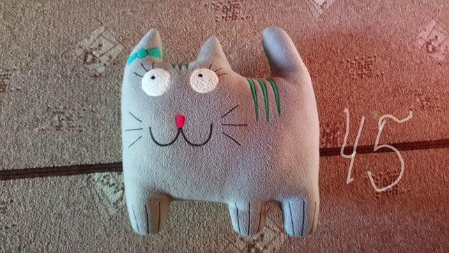(17шт носовички) (детская подушка-котик)